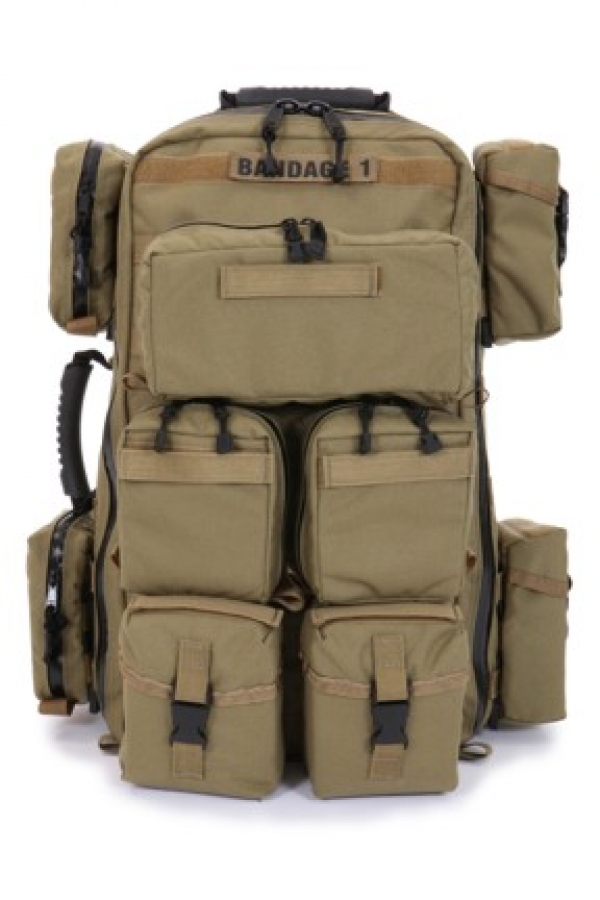 Military Tactical 371 A Tactical Medical Backpack With