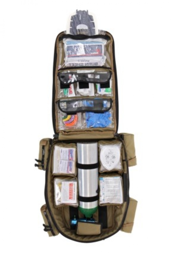 Home Military Tactical 371 E Medical Backpack Without Pouches